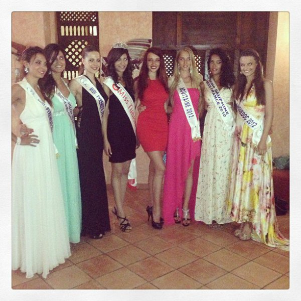 Les Miss en Tunisie