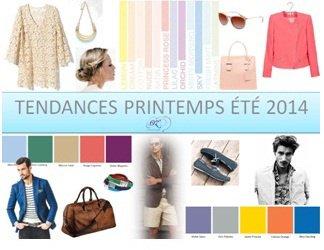 Tendances Printemps-Été 2014
