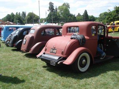 "Hot rod & Customs ""Drive-In"" (Beaulieu, UK)"