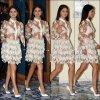 Selena en Italie pour une conférence de presse.