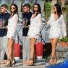 20/07/14 - Selena a été photographiée alors qu'elle quittait l'île d'Ischia, en Italie.