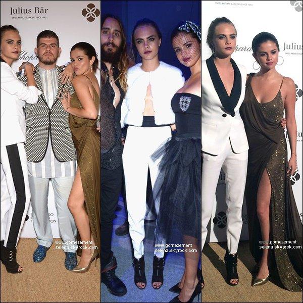 Découvrez des photos de Selena asiisant au Gala de Leonardo DiCaprio.