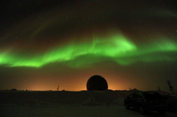 Magnifiques aurores boréales en Alaska