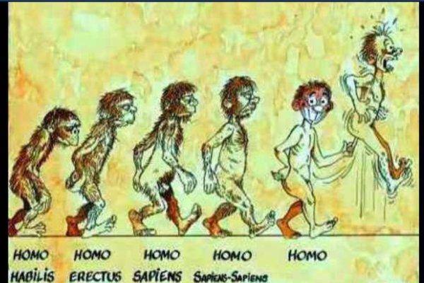 L'évolution Humaine....