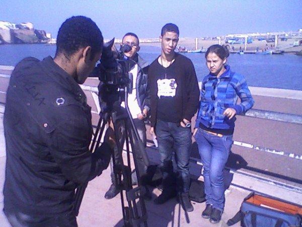 Roportage avec groupe STOP SHOUF sur tv RTM
