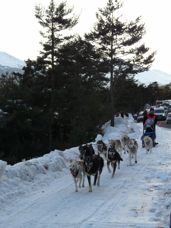 Passage au col de Sardères