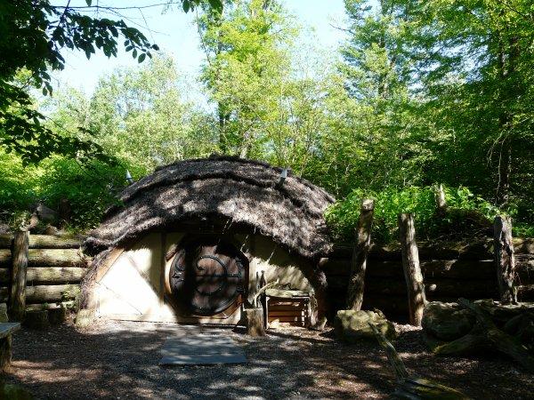 """Notre hébergement au parc de Sainte Croix """"La Tanière"""""""