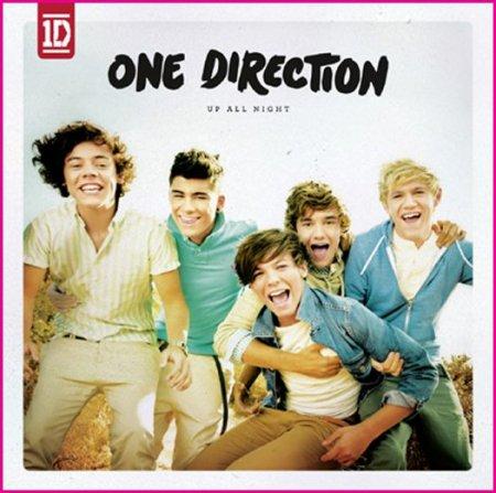 "Leur album intitulé "" Up all night "" .  ♥"