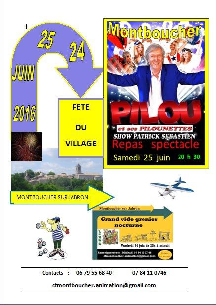 Fête du village 2016