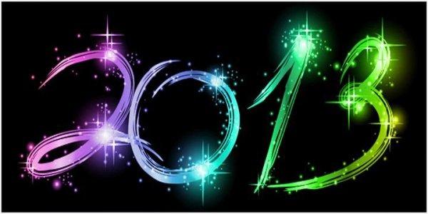 bonne année 2013 à tous