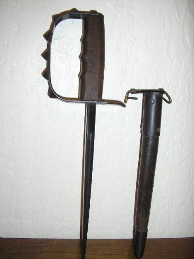 trench knife ( premier modele )