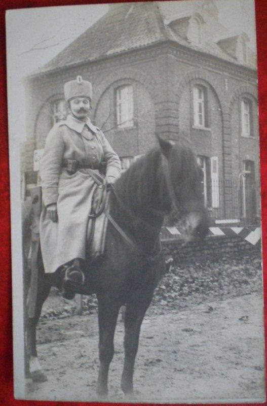 COLBACK DU III REGIMENT DES HUSSARDS  PRUSSIEN MOD'1915