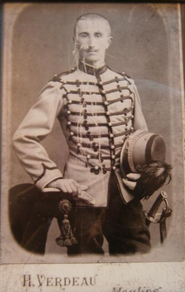 SHAKO DE CHASSEUR A CHEVAL MOD' 1874