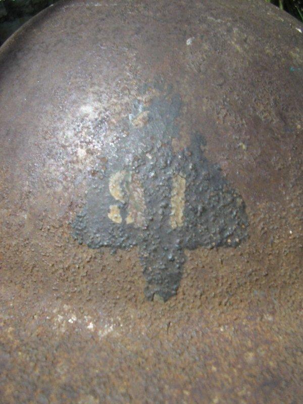 casque  U.S de la 91 D.I