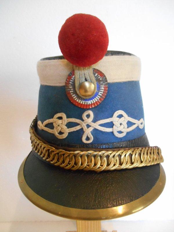 schako de hussard français mod'1874