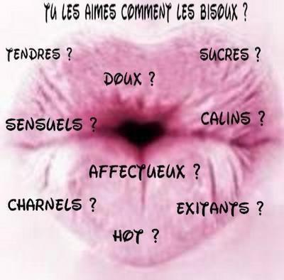 Les bisous....