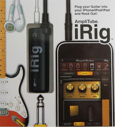 iRig pour iphone (Peavy)
