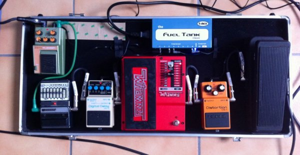 Pedalboard Rage Against The Machine