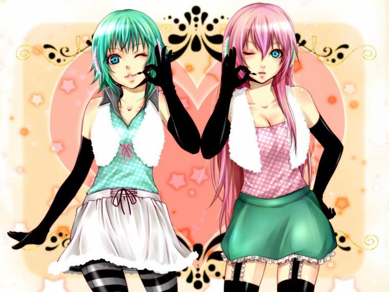 GUMI & Luka ~ Happy Synthesizer ~