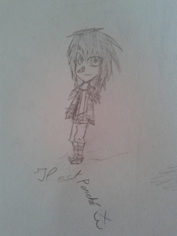 Draw my first chibis...♥