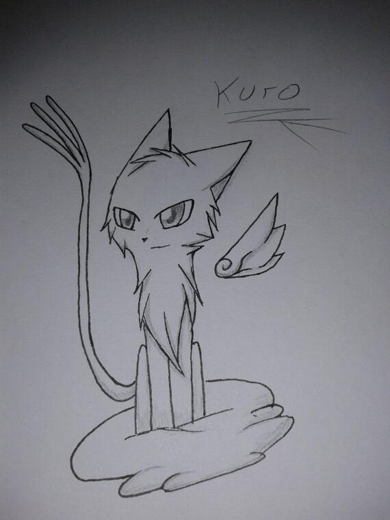 Dessin : Oui j'ai encore fais Kuro...