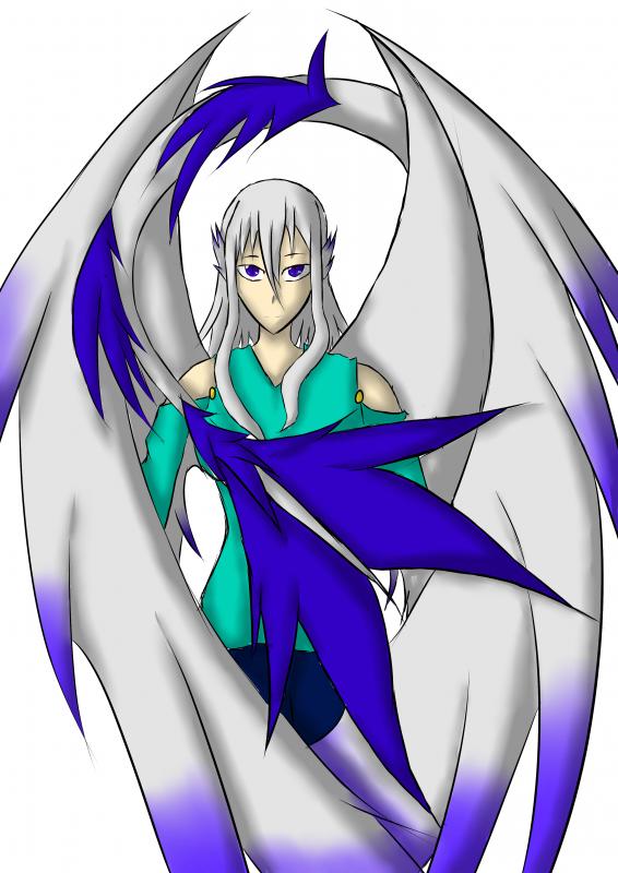 Dessin : Elana dragon.