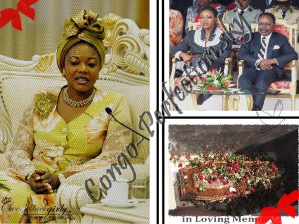 ΣN MΣMOiRΣ DΣ: xxxxxEdith Lucie Bongo Ondimba10.05.64 - 14.03.09