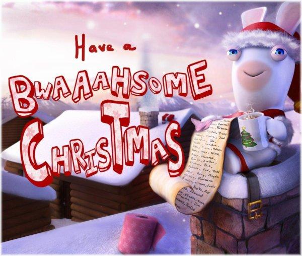 Joyeux Noel des Lapins Crétins !!!