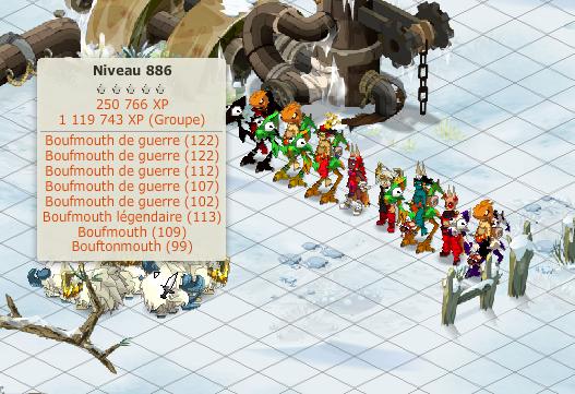 sortie xp avec les membres de la guilde + mon panda et feca