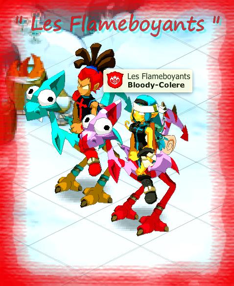 Les Flamebotyants en force <3<3