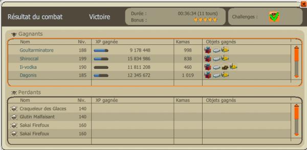 Une sortie xp avec la team et 3 gens de ma guilde et sa donne sa ! <3