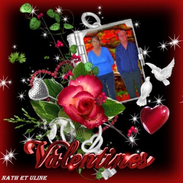 Bonne St Valentin Emmanuelle et Alfred  gros bisous Nath