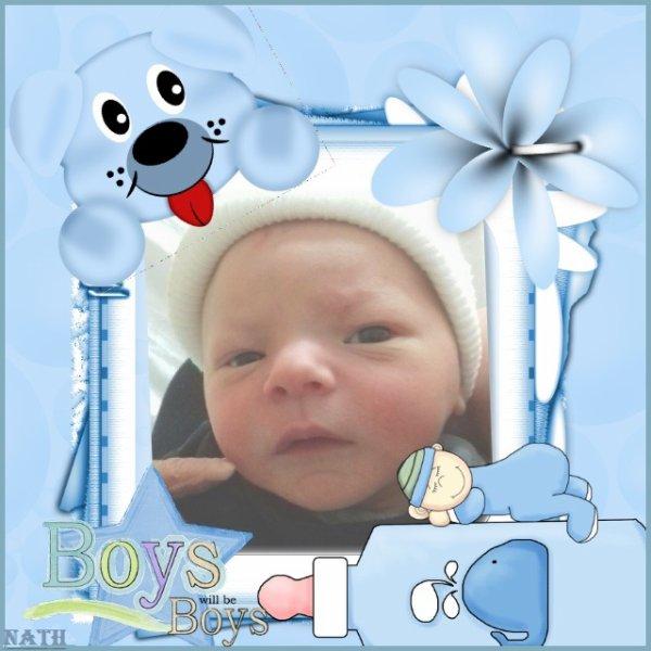 Bienvenue au beau Bébé Loîs, félicitations aux heureux Parents et Grands Parents Sylvie et Fabrice