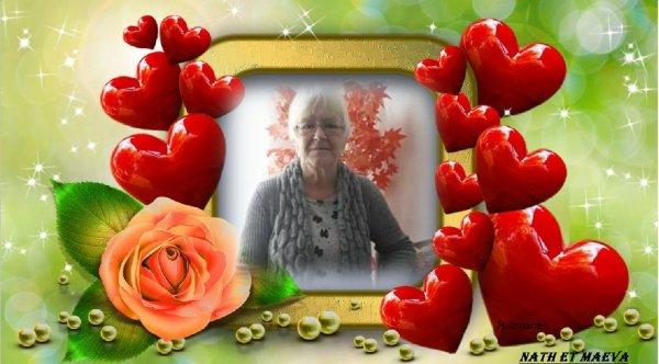 Félicitations Jacqueline pour ton joli blog d'amitié et tes com's bisous