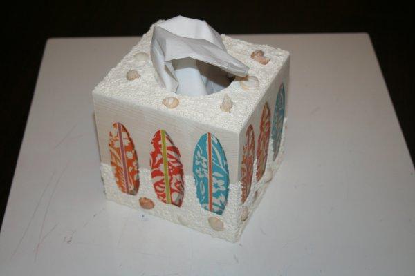 Boîte mouchoirs