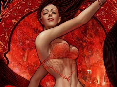 لباس احمر