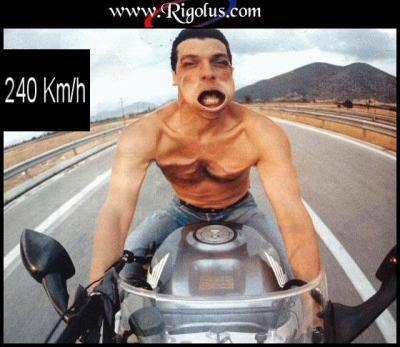 beaux motard