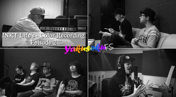 INKT Enregistrement de Life's Color - Episode 2 (07.09.2016)