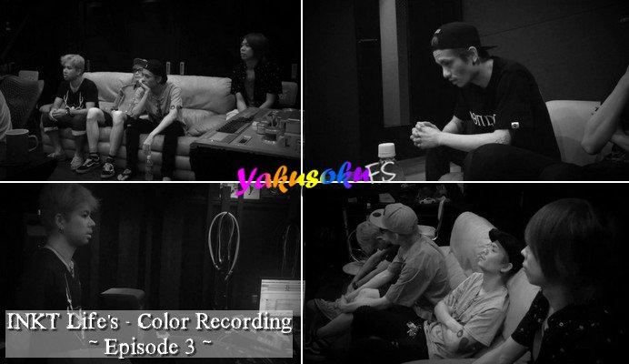 INKT Enregistrement de Life's Color - Episode 3 (14.09.2016)