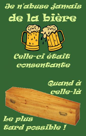 00773 - La bière coule et flotte