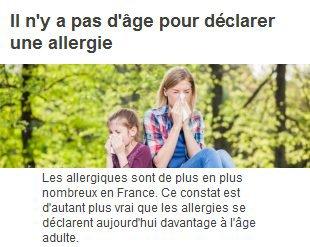 00816 - Allergies, on en pleure parfois