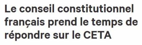 00823 - CETA or NOT CETA