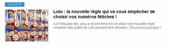 00892 - Mystification de la Française des jeux