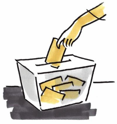 01042 - Imaginez un scrutin sans isoloir