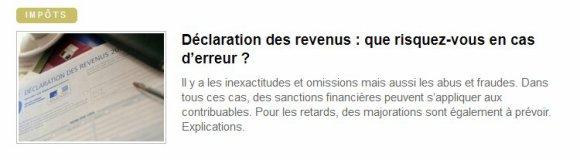 01489 - Impôt équitable ou égalitaire ?