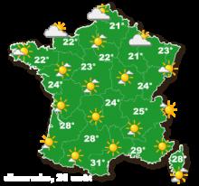 01555 - La France presque libre de nues
