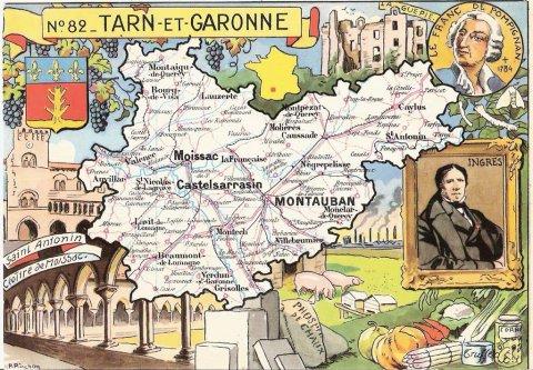01808 - Sur le Tarn-et-Garonne