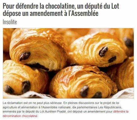 02695 - Chocolatine ou pains au chocolat ?