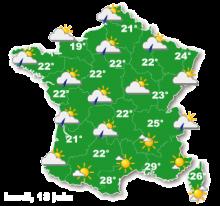 02820 - Le temps de lundi