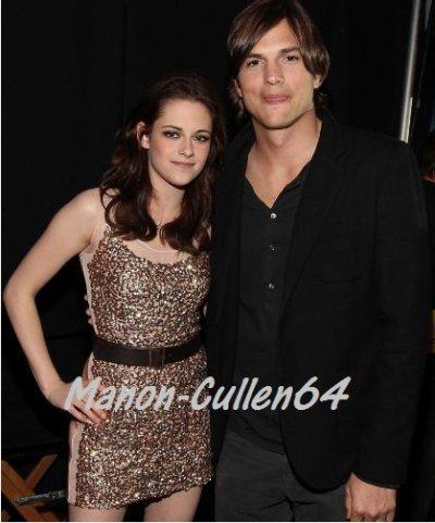 Kristen & Aston Kutcher